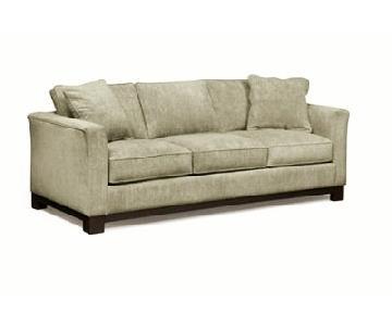 Macy's Kenton Fabric Sofa in Grain