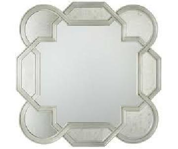 Bernhardt Salon Antique Silver Leaf Mirror