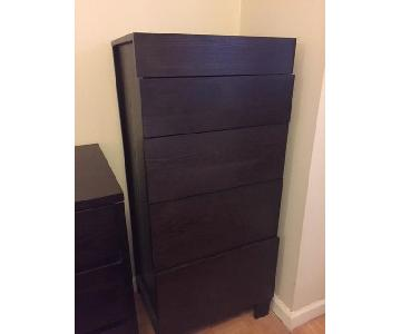 West Elm Hudson 5 Drawer Tall Dresser