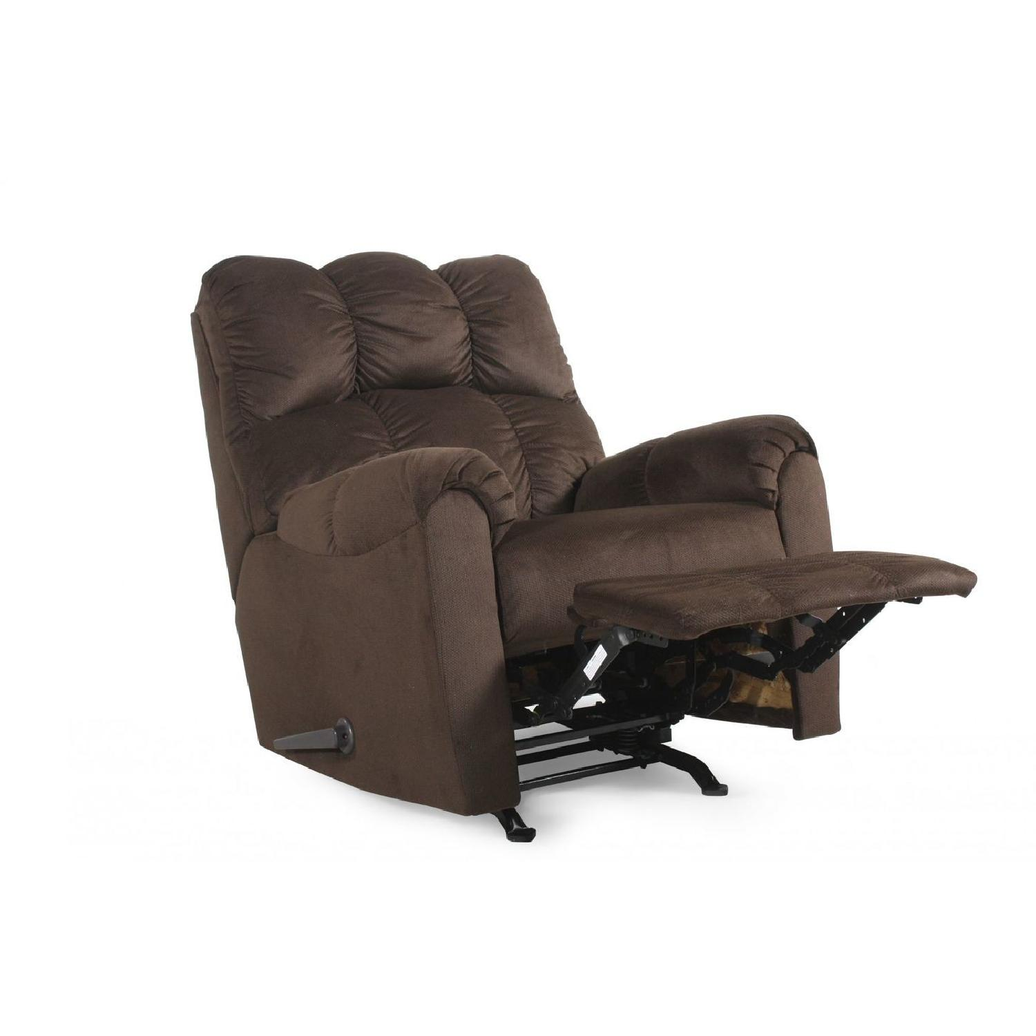 Ashley Brown Motion Recliner