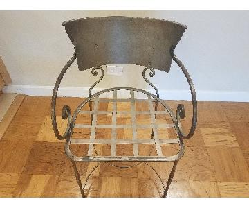 Antique Tuscan Style Dining Chair