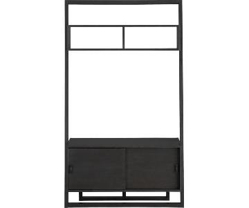 Crate & Barrel Sloane Leaning TV Stand