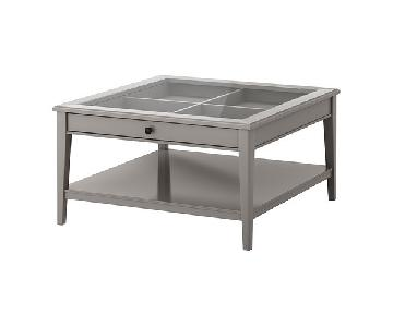 Ikea Liatorp Glass Coffee Table