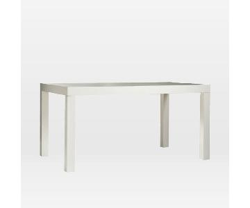 West Elm Parsons Rectangle Dining Table