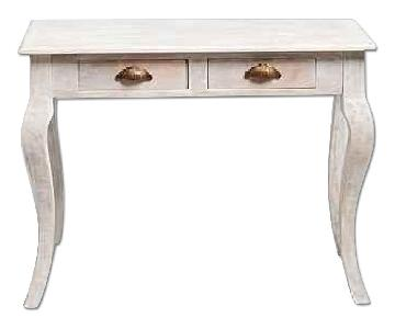 Urban Outfitters Plum & Bow Bella Desk in Antique White