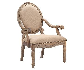 Target Madison Park Brentwood Oval Back Chair w/ Nailheads