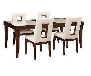 Raymour & Flanigan 7-Piece Expandable Dining Set