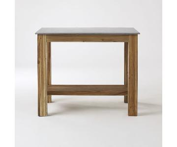 West Elm Rustic Kitchen Island/Table