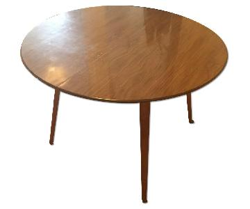 Mid Century Folding Dining Table