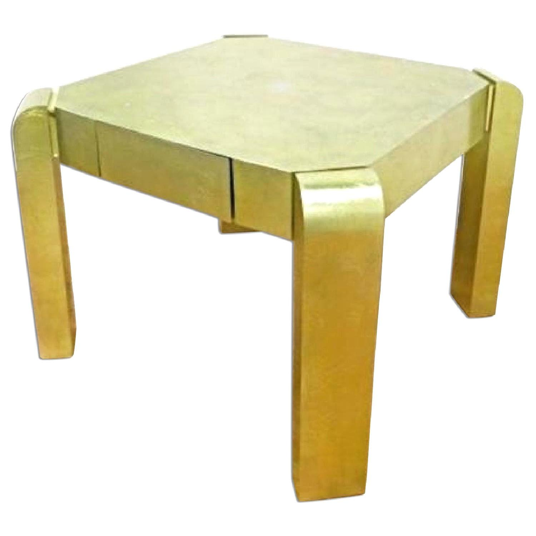 Karl Springer Mid Century Modern Game Coffee Table AptDeco