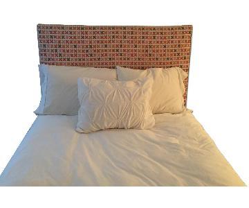 Custom Upholstered Full Size Headboard