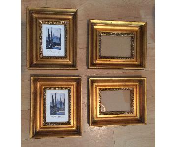 Gold Leaf Wood Frame