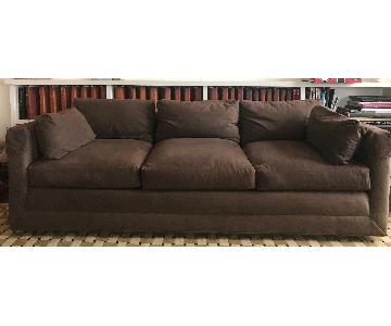 Preferred Designs Chocolate Custom Modern Sofa