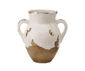 Pottery Barn Large Terra Cotta Tuscan Urn