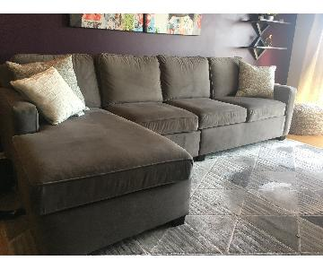 La-Z-Boy Custom Chaise Sectional Sofa