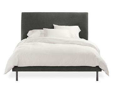 Room & Board Ella Queen Size Bed Frame w/ Headboard