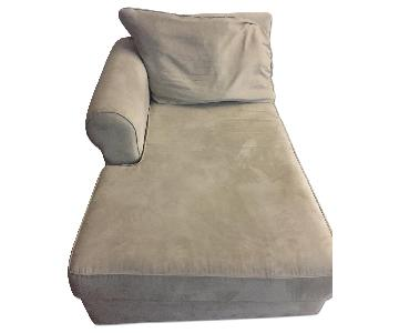 Bob's Beige Chaise Lounge