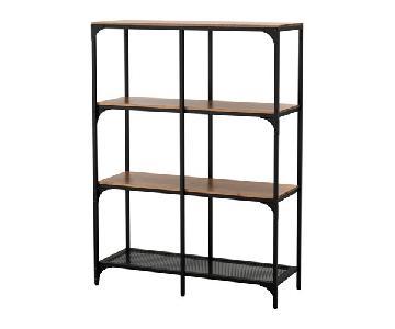 Ikea Fjallbo Rustic Shelf
