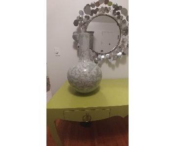 Legend of Asia Porcelain Lotus Globular Vase