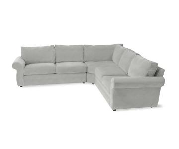 Pottery Barn Pearce 3-Piece Sectional Sofa