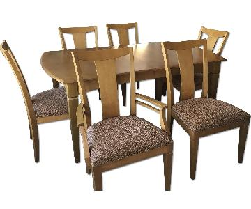 Ethan Allen 7-Piece Maple Dining Set