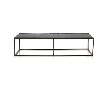 Crate & Barrel Baden Large Coffee Table