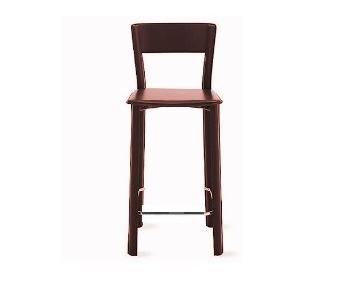 Design Within Reach Allegro Burgundy Stool