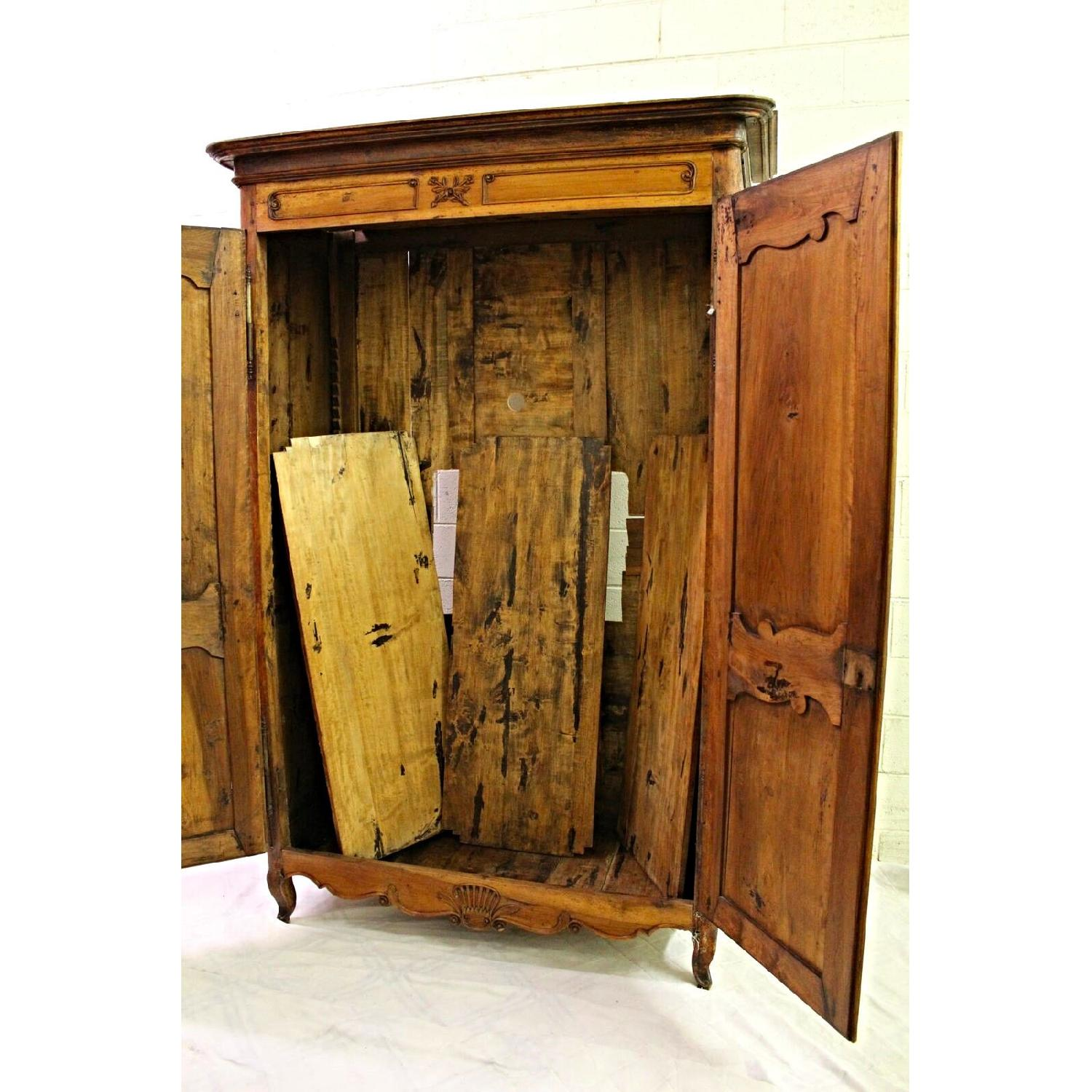 ... Vintage 18th C Large French Country Armoire/Wardrobe 3 ...