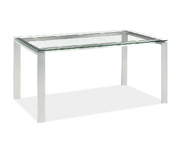 Room & Board Rand Counter Height Stainless Table