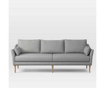 West Elm Antwerp Grey Sofa