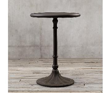 Restoration Hardware 20th C. Chrysanthemum Brasserie Table