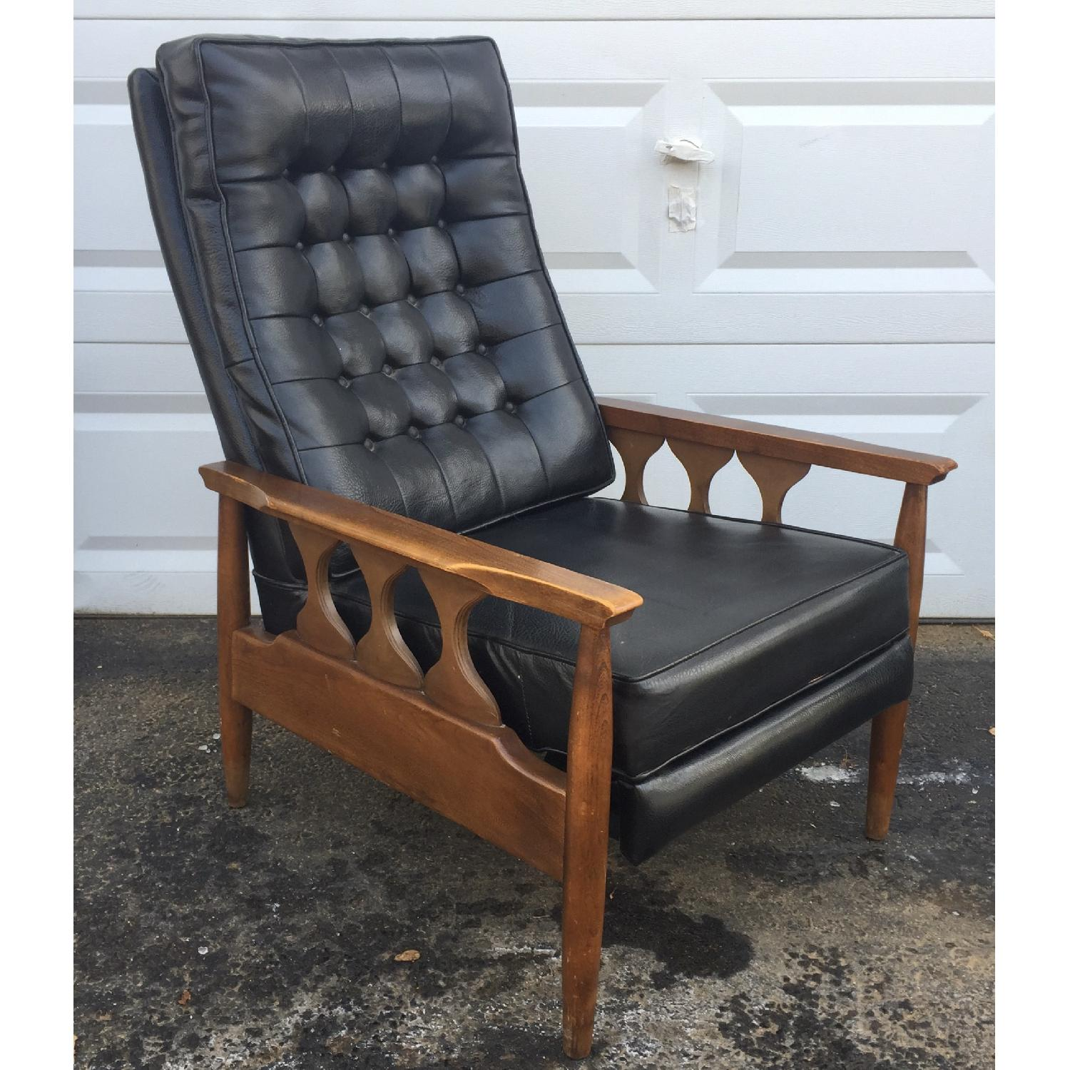 Mid-Century Reclining Lounge Chair