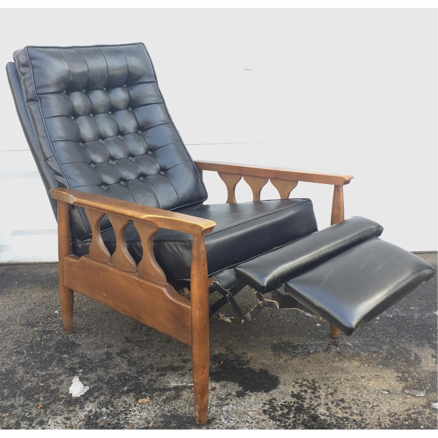 Mid-Century Reclining Lounge Chair-0