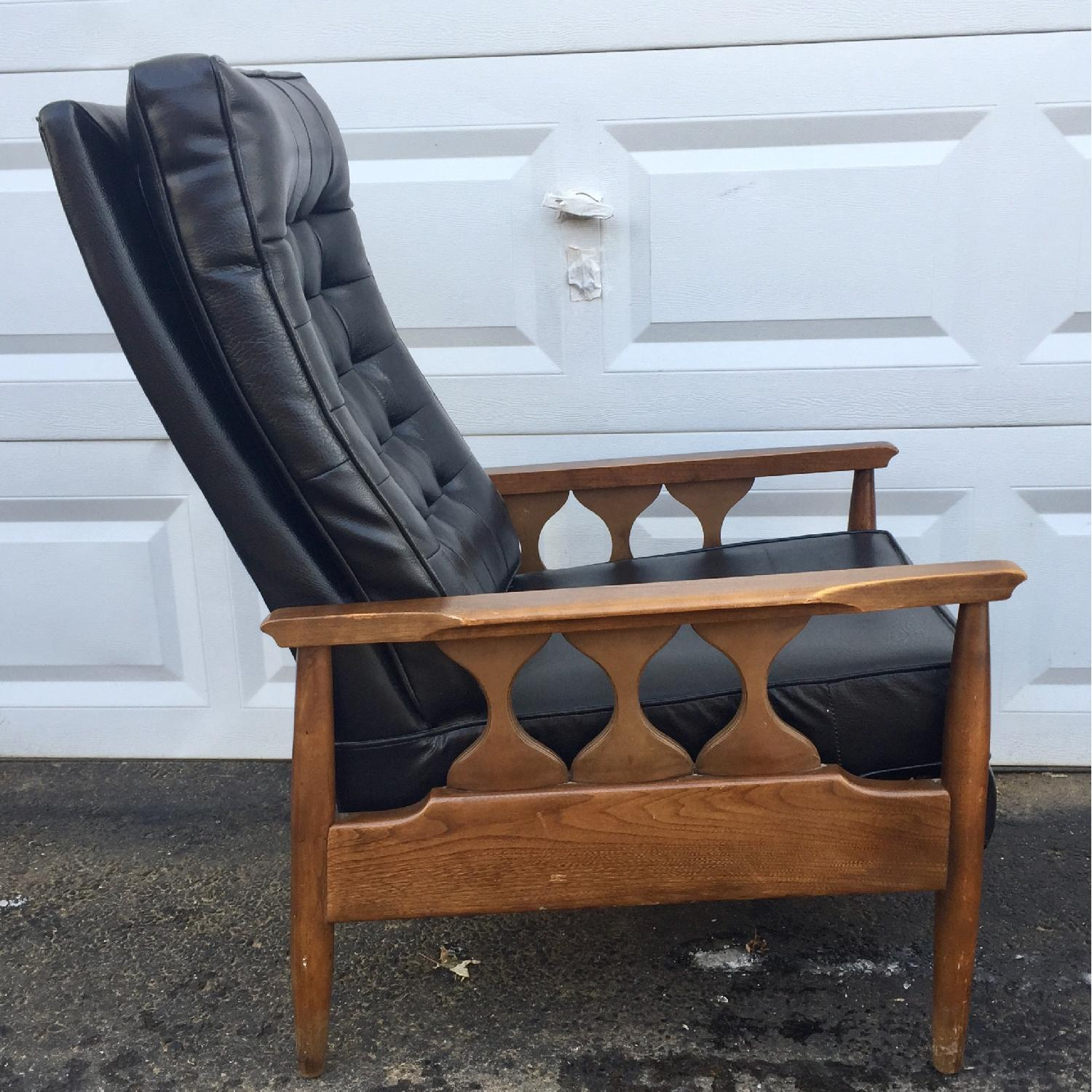 Mid-Century Reclining Lounge Chair-1