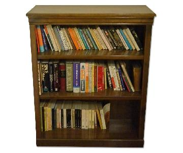 3 Shelf Wooden Bookcase