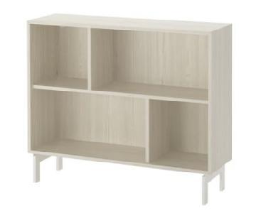 Ikea Valje Shelf Unit in Larch White