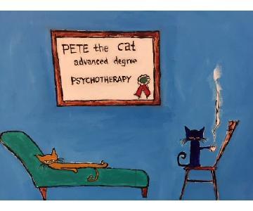 Pete The Cat Original Painting