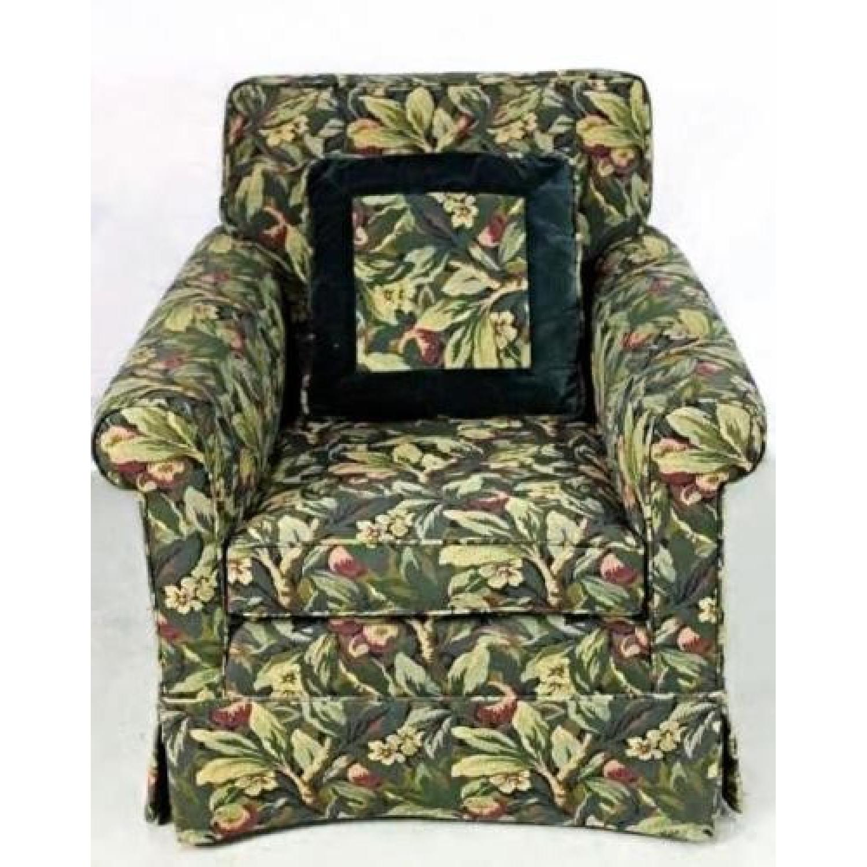 Custom Upholstery Lounge Club Armchair