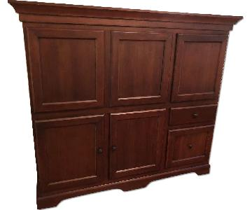 Pottery Barn Computer Cabinet/Armoire