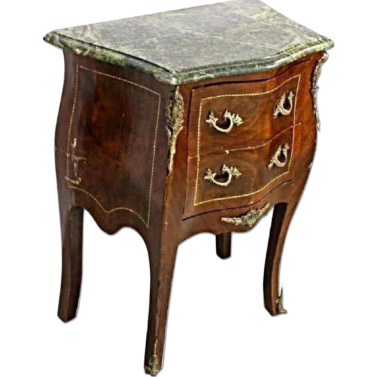 Louis XV Marble Top Commode/Chest