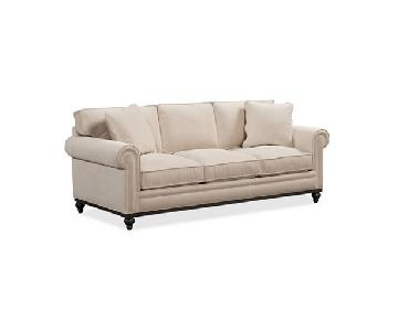 Macy's Martha Stewart Collection Club Roll Arm Sofa