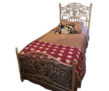 Jessica McClintock Twin Iron Bed Frame