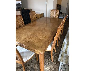 Stanley Expandable Dining Table w/ 6 Chairs