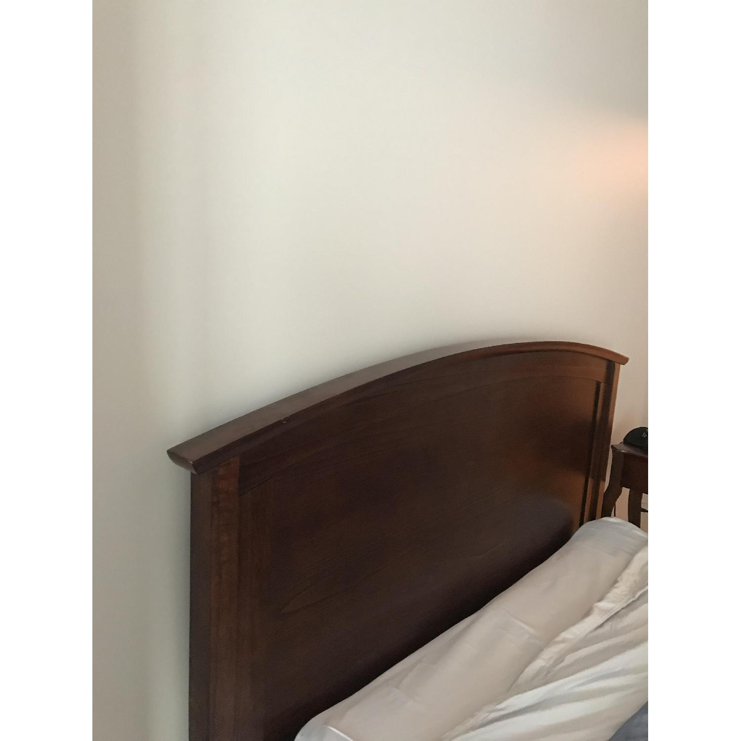 Pottery Barn Chloe Bed in Mahogany - image-1