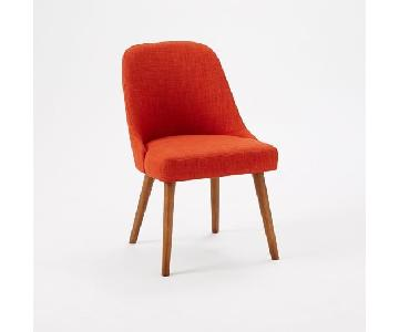 West Elm Mid Century Upholstered Accent Chair