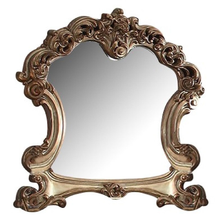 Acme Vendome Mirror in Gold Patina