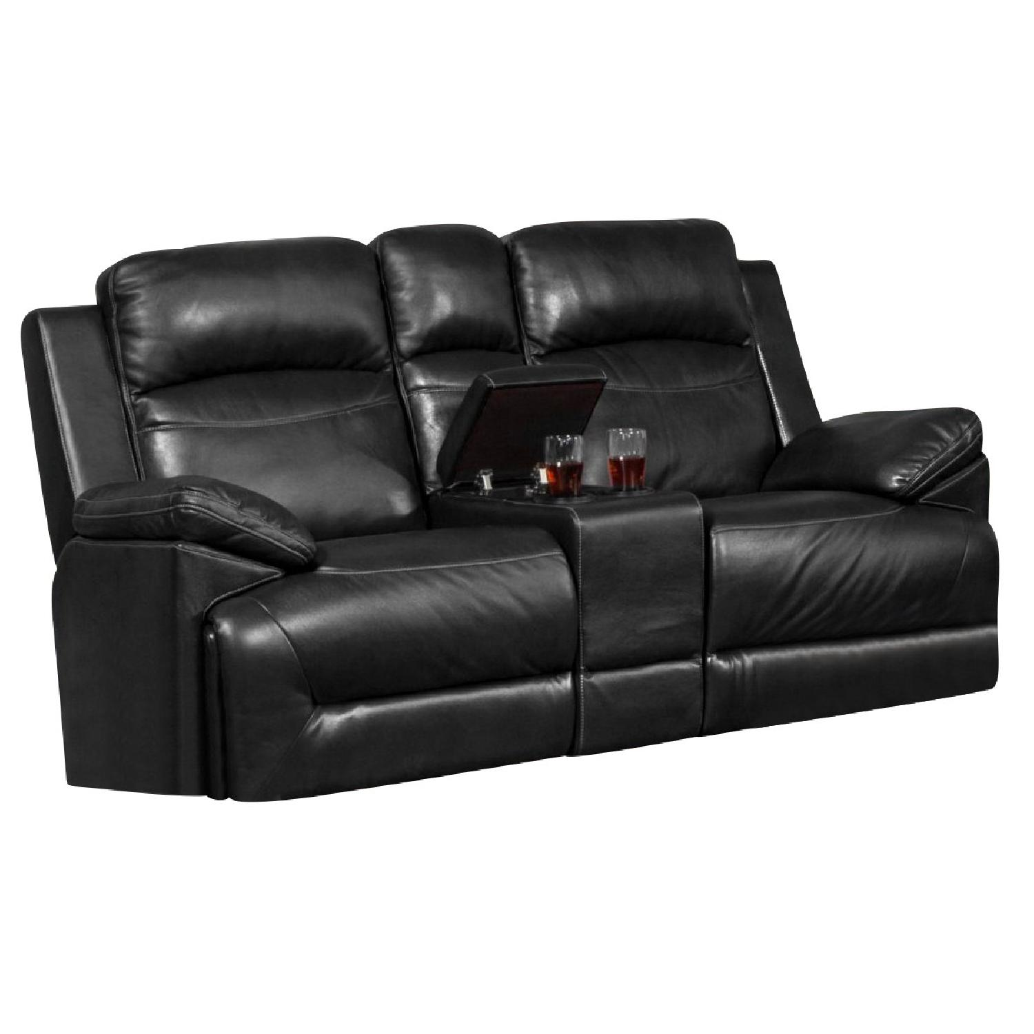New Classic Furniture Cortez Dual Recliner Console Aptdeco ~ Sofa Recliner With Console