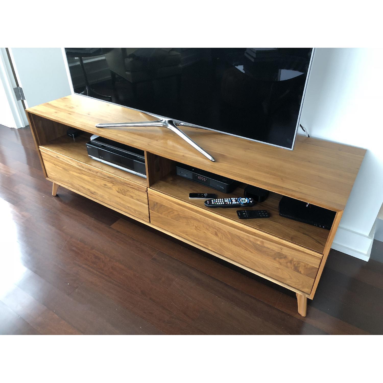 Copeland Furniture Catalina Modern Solid Walnut Tv Aptdeco # Meuble Tv Boconcept