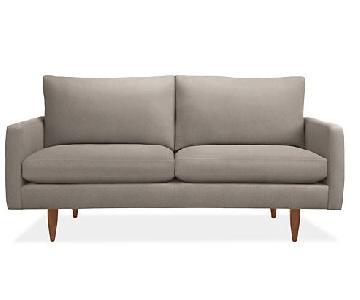 Room & Board Jasper Grey Sofa