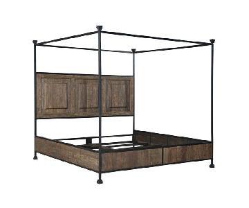 Designe Gallerie Teak Wood Platform Bed Frame